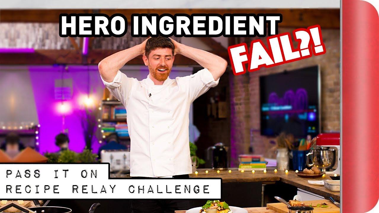 HERO INGREDIENT Recipe Relay Challenge | Pass It On Ep. 7
