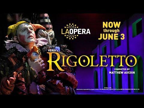 """The critics love """"a mesmerizing"""" Rigoletto!"""