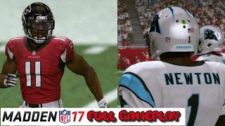 Madden 17 Gameplay | Atlanta Falcons vs. Carolina Panthers | Mercedes Benz Stadium | Full Game
