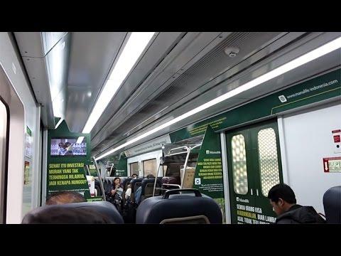 SERATUS RIBU! NAIK KERETA BANDARA ARS [AIRPORT RAILINK SERVICES] Stasiun Medan ke Bandara Kualanamu