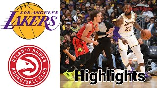 Lakers vs Hawks HIGHLIGHTS Full Game | NBA 76ers 31