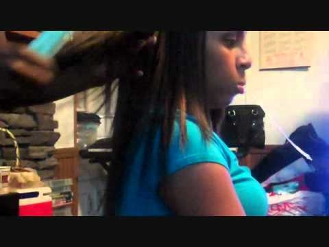 Sew In Weave With Harlem 125 Human Hair 14inch YouTube