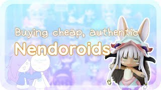 How to buy cheap, authentic Nendoroids / Anime figurines