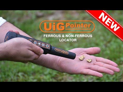 uig pointer with a high capacity to distinguish between precious and non-precious metals underground