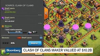 Tencent Buys Stake of 'Clash of Clans' Maker Supercell
