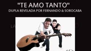 Te amo tanto (VERSÃO OFICIAL) - Henrique & Diego