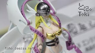 Digivolving Spirits ANGEWOMON / 超進化魂 エンジェウーモン display
