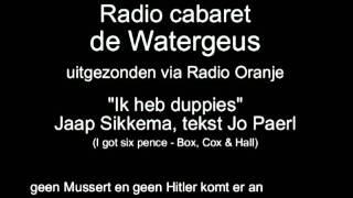 Radio Cabaret de Watergeus, afl 41 - Ik heb duppies