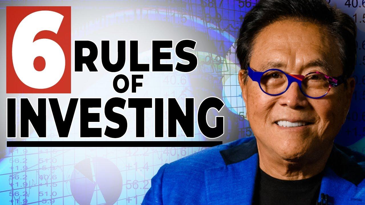 Download Master the Six Basic Rules of Investing – Robert Kiyosaki
