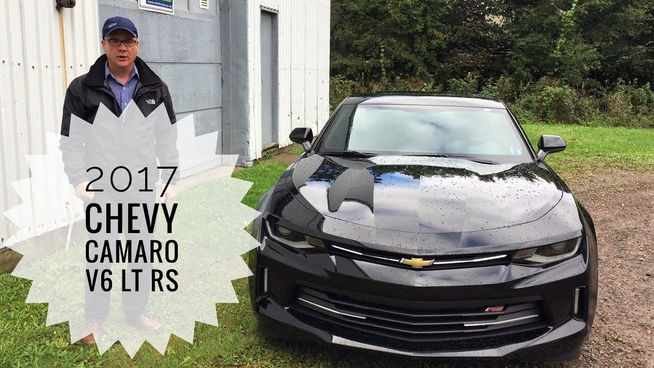 2017 Chevrolet Camaro Coupe V6 Lt1 Rs Road Test And Review Pye Buick Gmc You