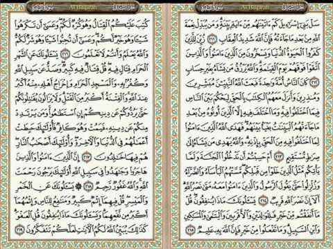 Murottal JUZ 2 05 AL BAQARAH 204-218 Lagu Rast Oleh Drs HAF CHOIRUL ANAM