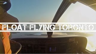 Pilot Eye View: Foggy Water Landing, Cessna Caravan Amphibian
