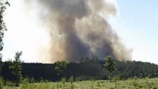 Incendio entres Ponteareas y Covelo (Pontevedra)