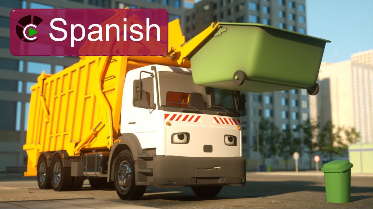 Imagenes De Camionetas >> George el camión de basura (SPANISH) - George the Garbage Truck (Real City Heroes) - YouTube