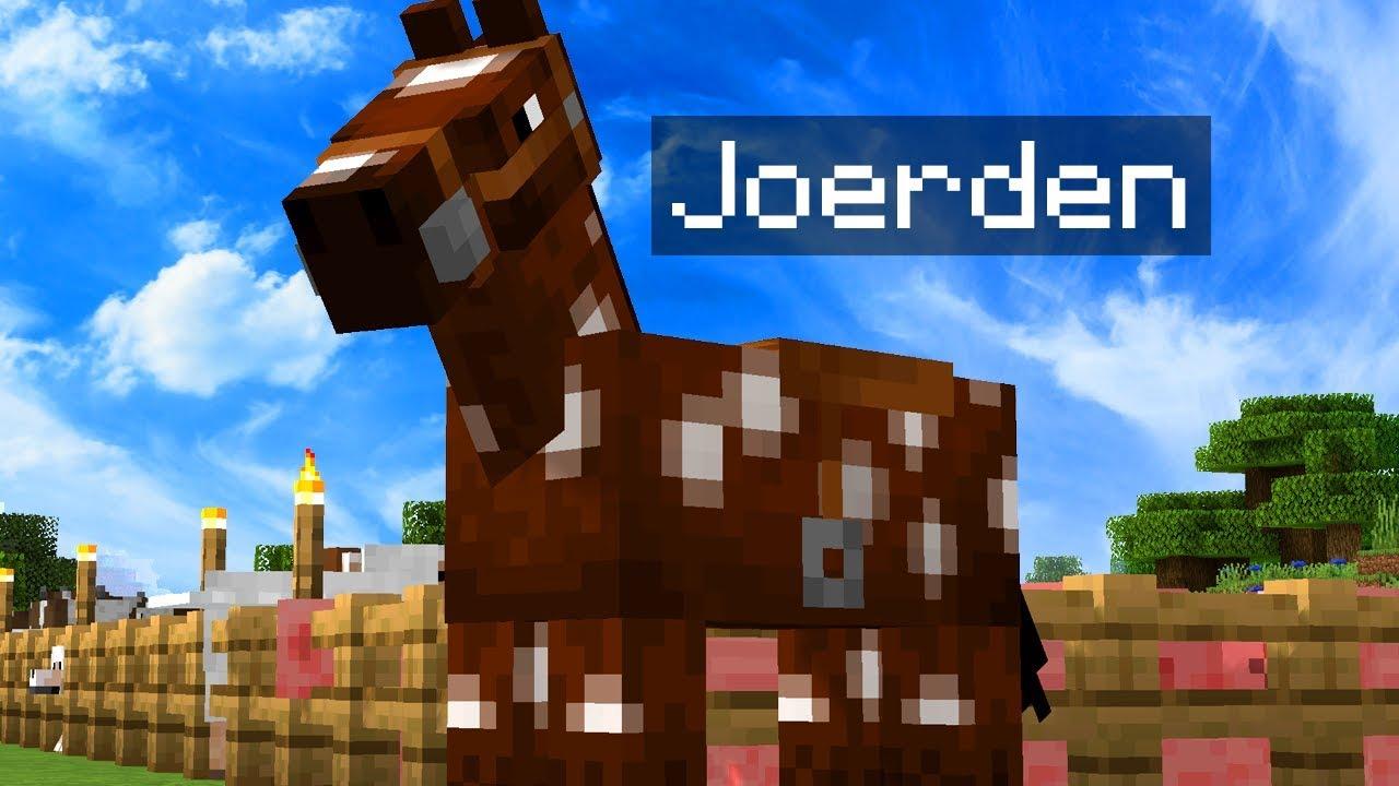 minecraft pferde füttern