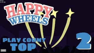 TOP 5 Play Count of the week #2 | Happy Wheels