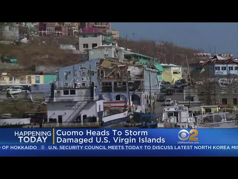 Cuomo Heads To US Virgin Islands To Assess Damage