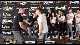 FAME MMA - PAJACERKA, POZERSTWO I BRAK TECHNIKI XD - Na żywo