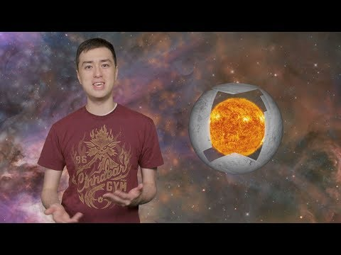 Could We Build Solar Panels Around The Sun? (Dyson Spheres and Rings)