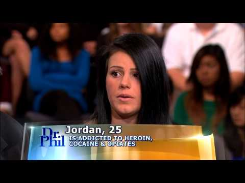 Jordan Opens Up about Her Addiction -- Dr. Phil
