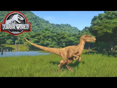 RAPTORS! - Jurassic World Evolution #4