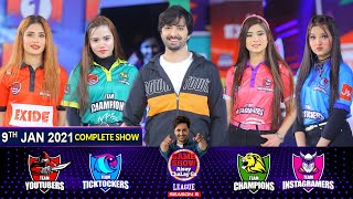 Game Show Aisay Chalay Ga League Season 5 | Danish Taimoor | 9th January 2021 | Complete Show