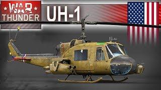 UH-1 śmigłowiec vs czołg - pierwszy raz na kanale - War Thunder
