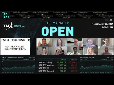 Franklin Templeton Investments Virtually Opens The Market