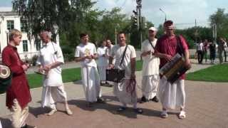 Харинама-санкиртана, выездная в г. Реж Свердловской области 03 08 2013