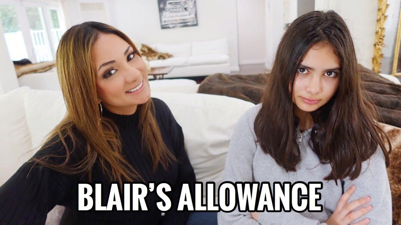 i put blair on an allowance