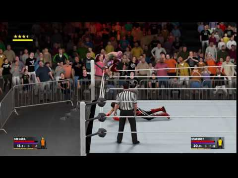 WWE 2K17 Top Rope Glitch