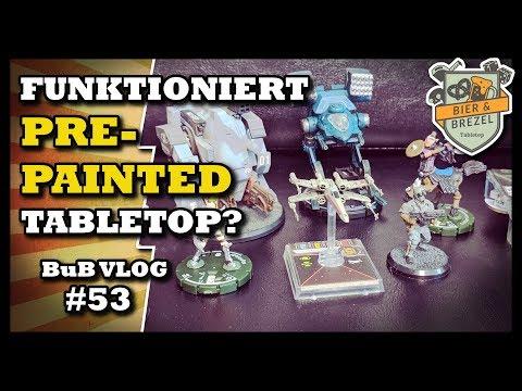 Komplett Bemalt Aus Der Box | Funktioniert Pre-Painted Tabletop? | Bub Vlog #53