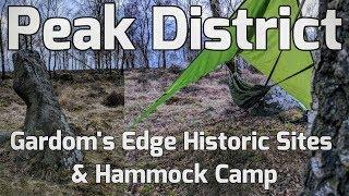 Peak District Gardom s Edge Historic SitesHammock Wild C