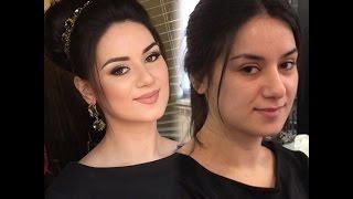Свадебный макияж в натуральных оттенках.Визажист Амина Даудова (Make-up Amina Daudova)(Make-up Amina Daudova Hairstyles Uma Galimova http://vk.com/id142022237 http://instagram.com/makeup_amina_dau... http://www.odnoklassniki.ru/vizazhist., 2015-03-18T19:55:07.000Z)