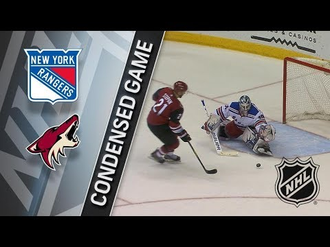 New York Rangers vs Arizona Coyotes – Jan. 06, 2018 | Game Highlights | NHL 2017/18. Обзор матча