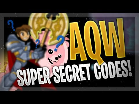 AQW - ALL Secret Codes 2019 (FREE Weapons, Helms, Capes And More!)
