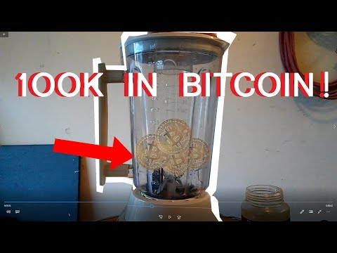 BLENDING BITCOIN??!! Just Blend It #1