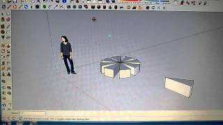 sketchup in 2 minutes-rotate and copy