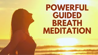 Powerful Guided Breath Meditation for Abundance, Wealth, Health, Joy, Positivity & Love