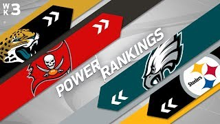 NFL Week 3 Power Rankings!