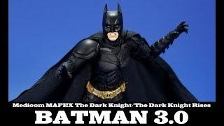 MAFEX Batman 3.0 The Dark Knight Rises Medicom Review