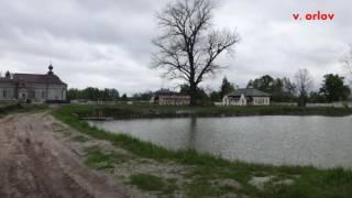Женский монастырь в зоне Чернобыля.(Пустынно - Никольский скит Киево - Покровского женского монастыря выглядит как