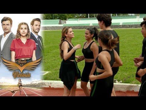 Victoria regresa a las pistas de atletismo | El vuelo de la victoria - Televisa