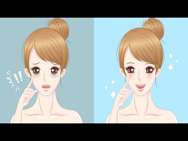 Facial Yoga Exercises to Reduce Eye Bags - Face Lift Exercise for Women