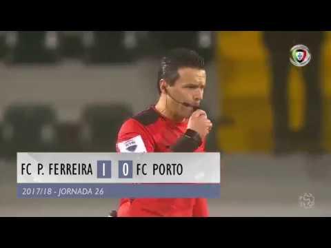 Paços Ferreira 1-0 FC Porto (Liga 26ªJ): Resumo