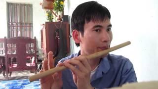 Bài 2: Hướng dẫn thổi sáo Lá diêu bông- sáo trúc Cao Trí Minh