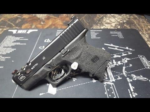 Glock 17 Suppressed w/AAC Ti-Rant, JMac Customs | Doovi