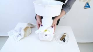 Молочний сепаратор Салют