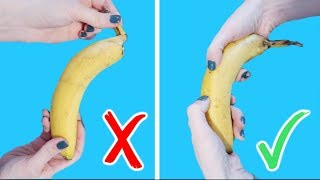 FOOD HACKS YOU'LL WISH YOU'D KNOWN EARLIER
