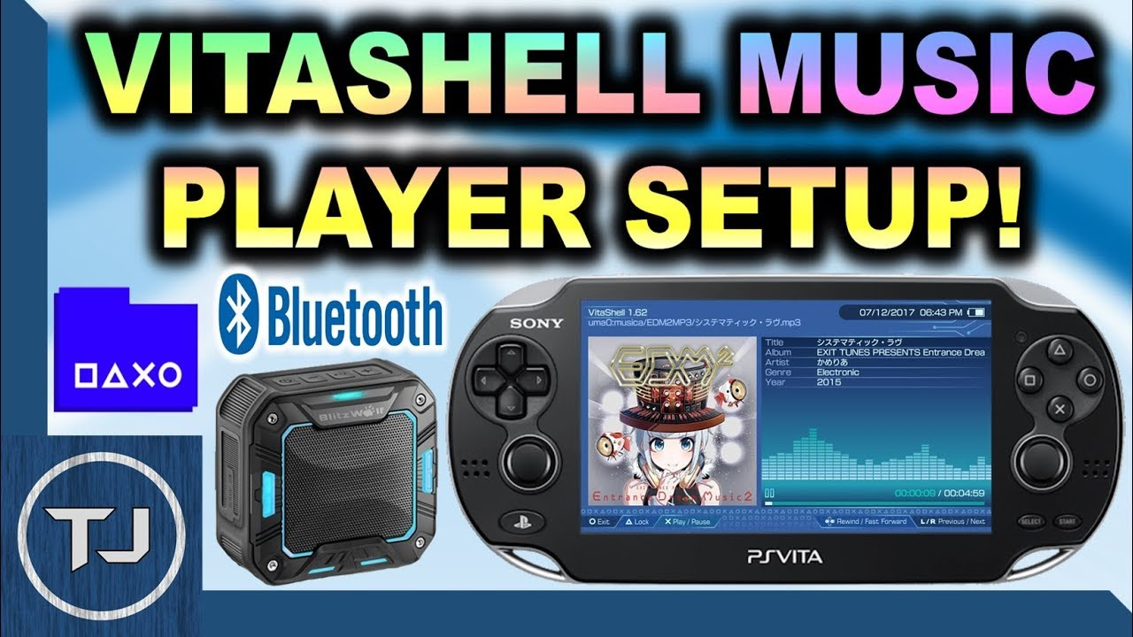 Setup VitaShell Music Player & Connect Bluetooth Speaker! (Blitz-Wolf  Speaker)